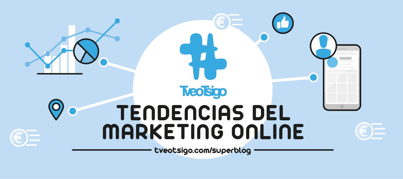 """Imagen para artículo de superblog: """"Tendencias del Marketing Online"""""""