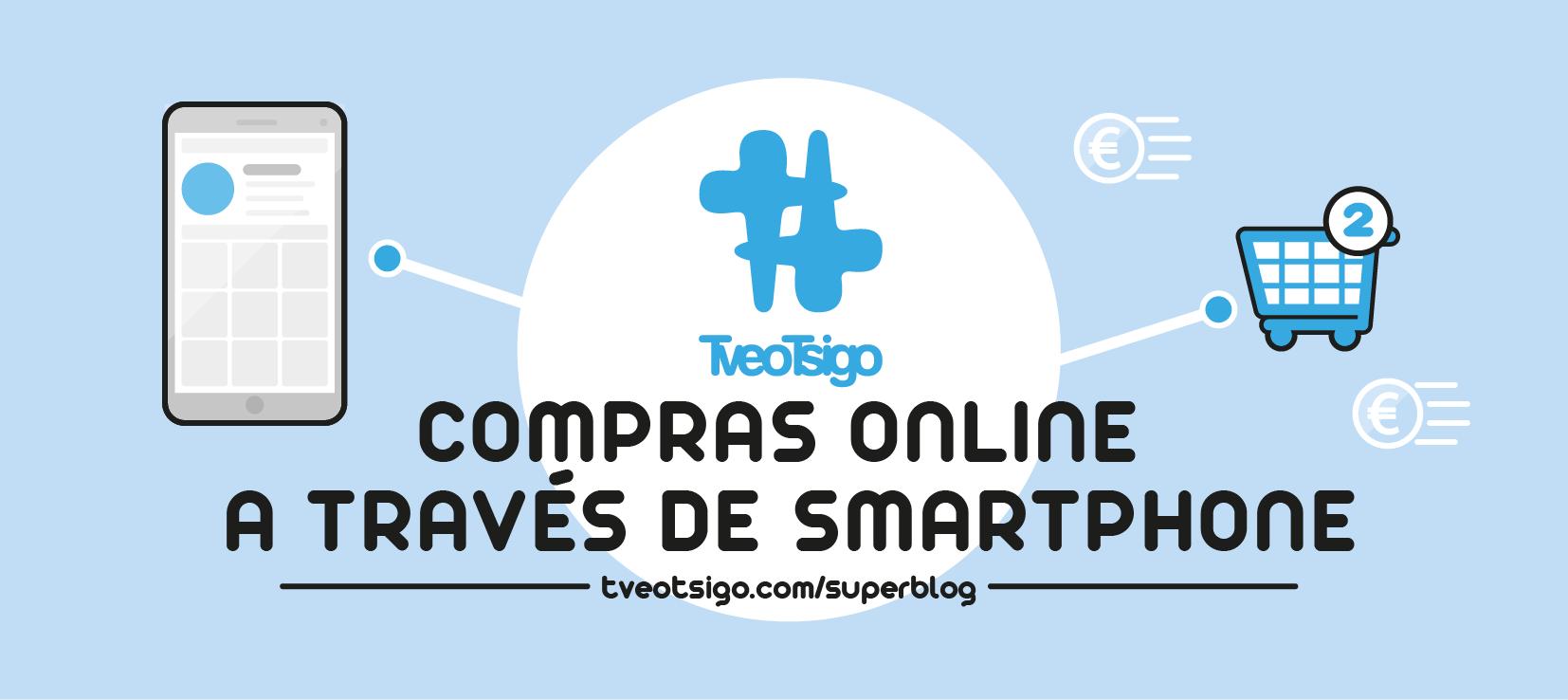 """Imagen para artículo de superblog: """"Compras online a través de Smartphone"""""""