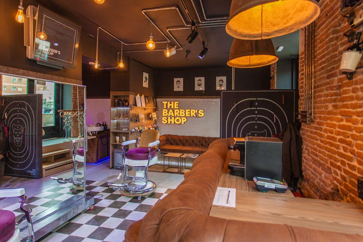 Arquitectura de Interiores para barbería en Madrid
