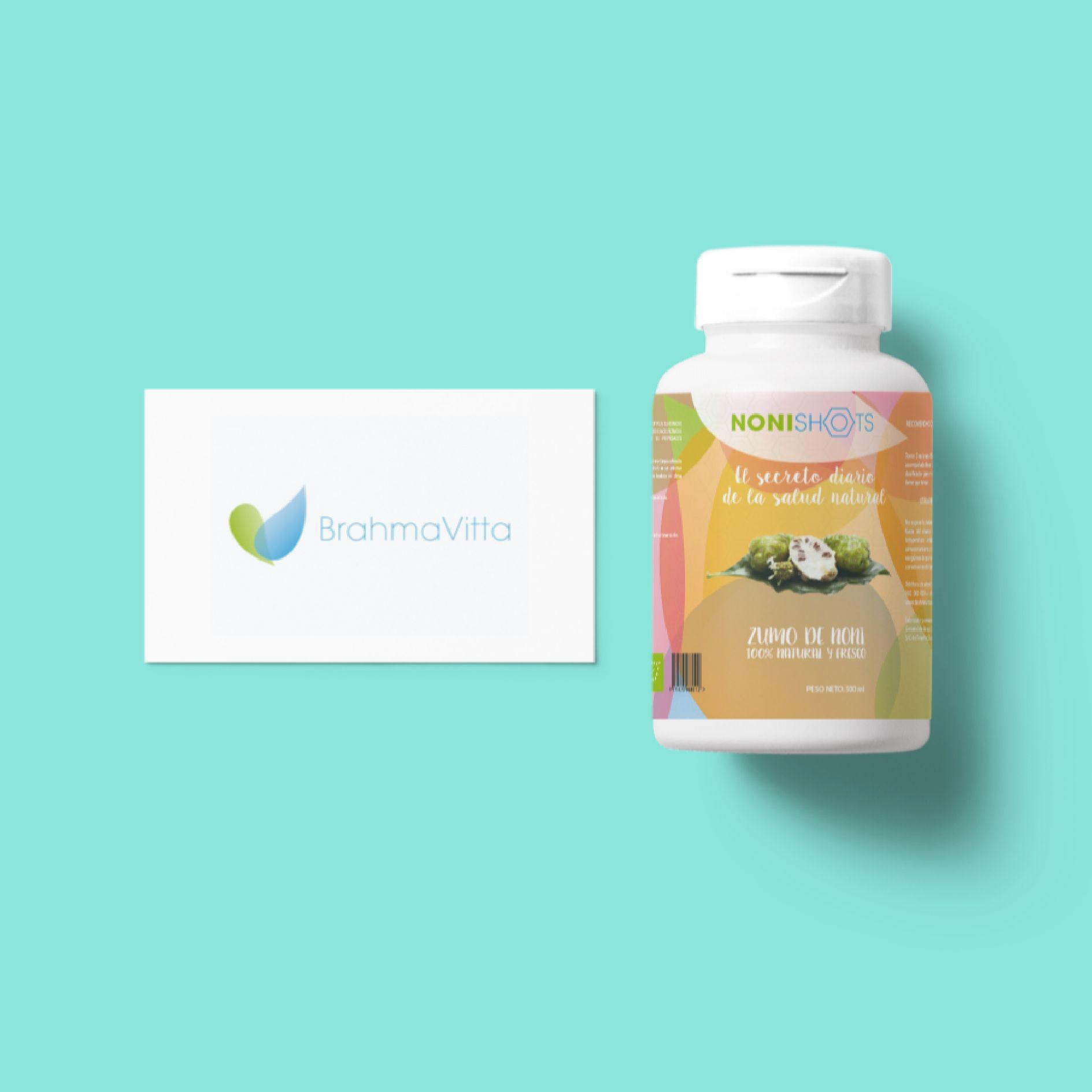 Identidad corporativa y etiquetado de envase para Brahma Vita