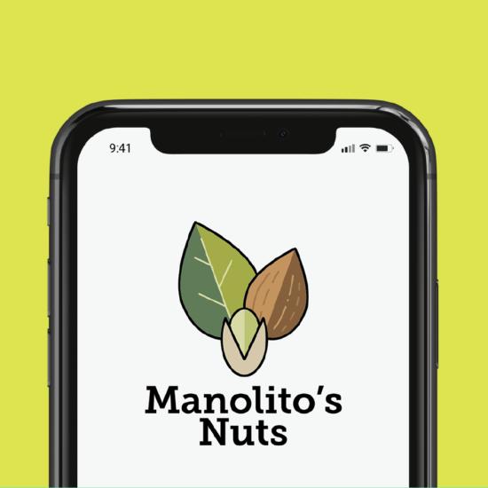 Diseño de imagotipo para empresa de cultivo y exportación de frutos secos